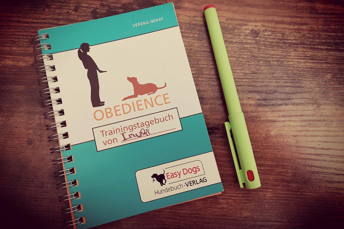 Obedience trainingstagebuch | kleinstadthunde.de