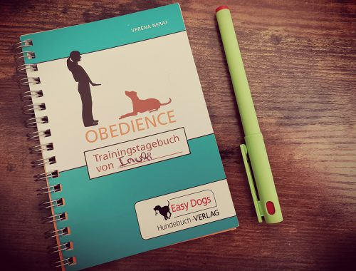 Obedience trainingstagebuch | kleinstadthunde.de