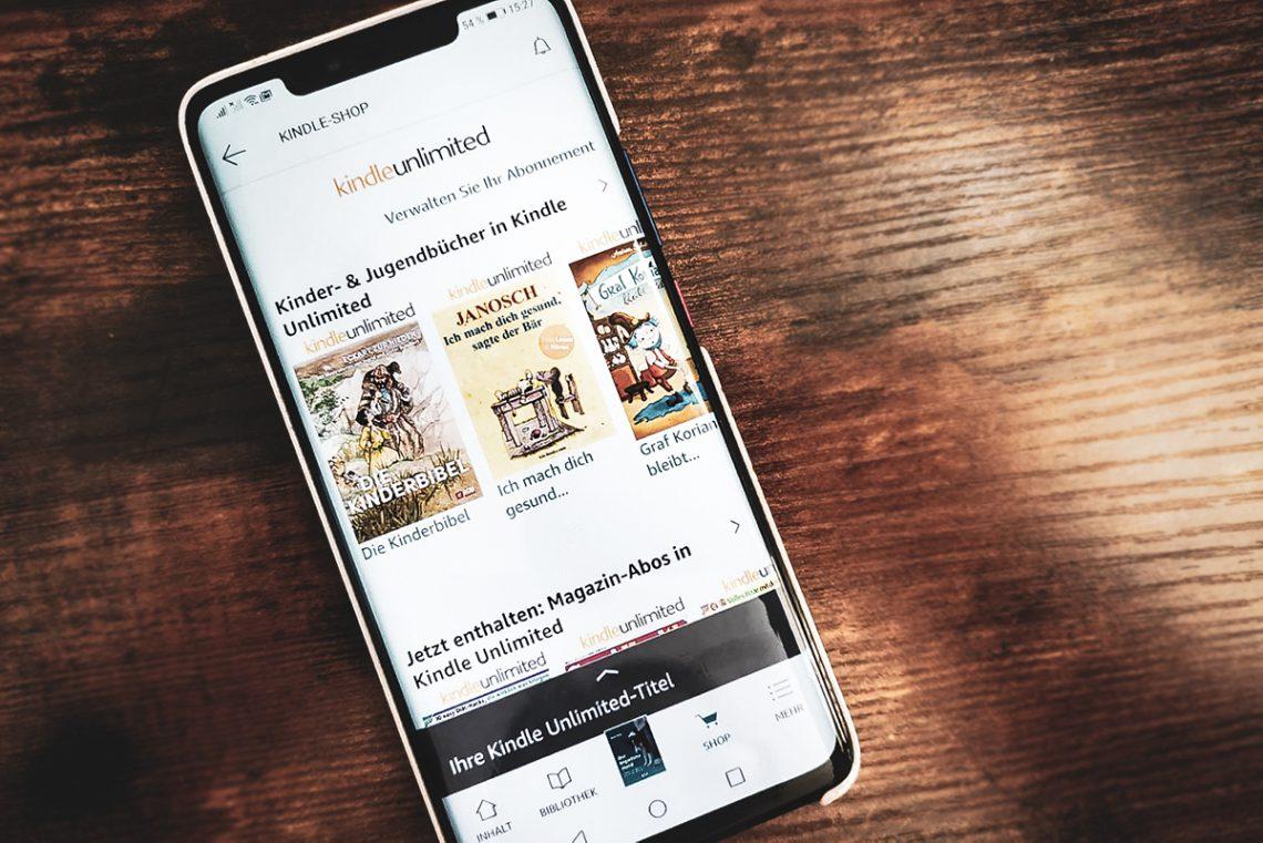 Kindle Unlimited Amazon App | kleinstadthunde.de