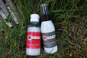 Anti Zecken Schutz für Hunde von DÍGGY auf kleinstadthunde.de getestet