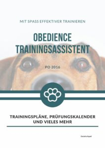 Obedience Trainingsassistent nach PO 2016