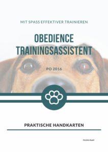 Obedience Handkarten