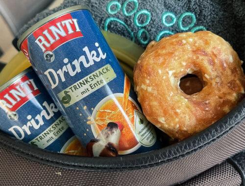 Rinti Drinki - Flüssiger Snack für Hunde - Hundeblog - kleinstadthunde.de
